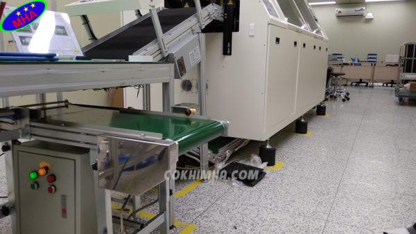băng tải PVC cấp sản phẩm MHA tại Hà Nội